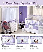 Kit berco enxoval de quarto para bebe